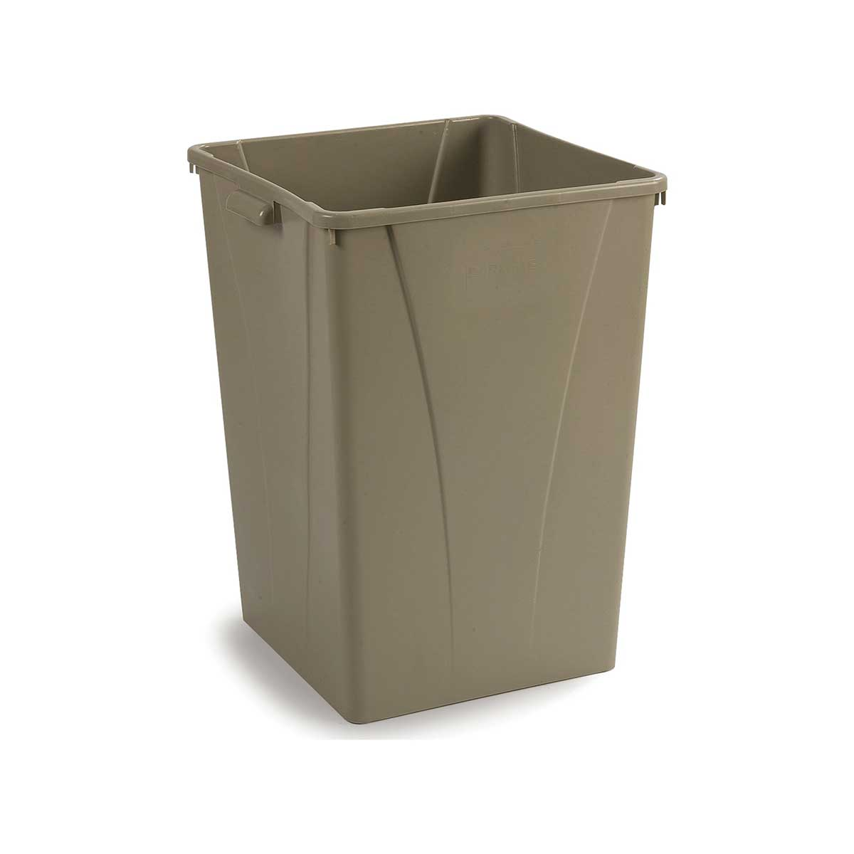 35-Gallon Centurian Square Trash Can, Pack of 4