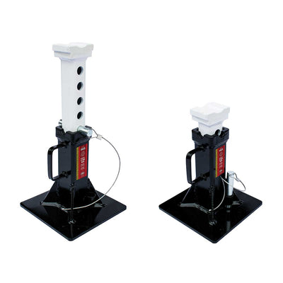 AME 24 Ton Heavy Duty Jack Stands 1 Pair, with Flat Handle