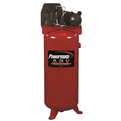 Powermate 3.7 HP 60-Gallon Single Stage Air Compressor