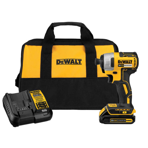 DEWALT 20 V MAX 1/4-in Brushless Impact Driver Kit
