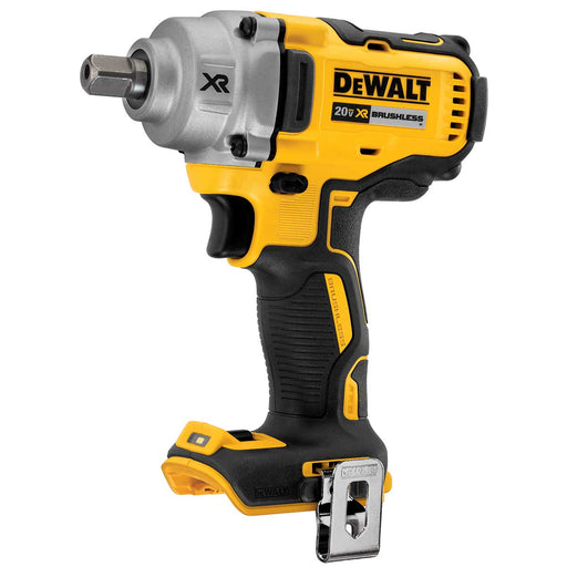 DeWalt 20V MAX* XR® 1/2 in. Mid-Range Cordless Impact Wrench with Detent Pin Anvil (Tool Only)