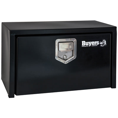 Buyers Products Products Black Steel Underbody Truck Box With Paddle Latch