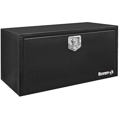Buyers Products Black Steel Underbody Truck Box