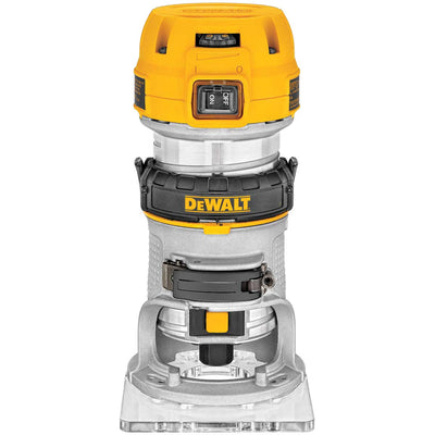 DeWalt 1.25 HP MAX Torque Variable Speed Compact Router with LED's