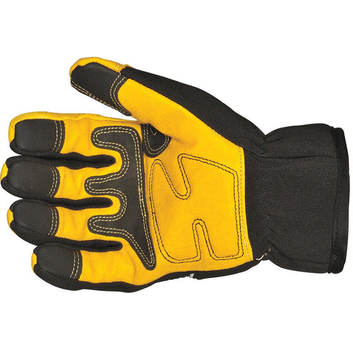 Waterproof Insulated Leather Palm Gloves