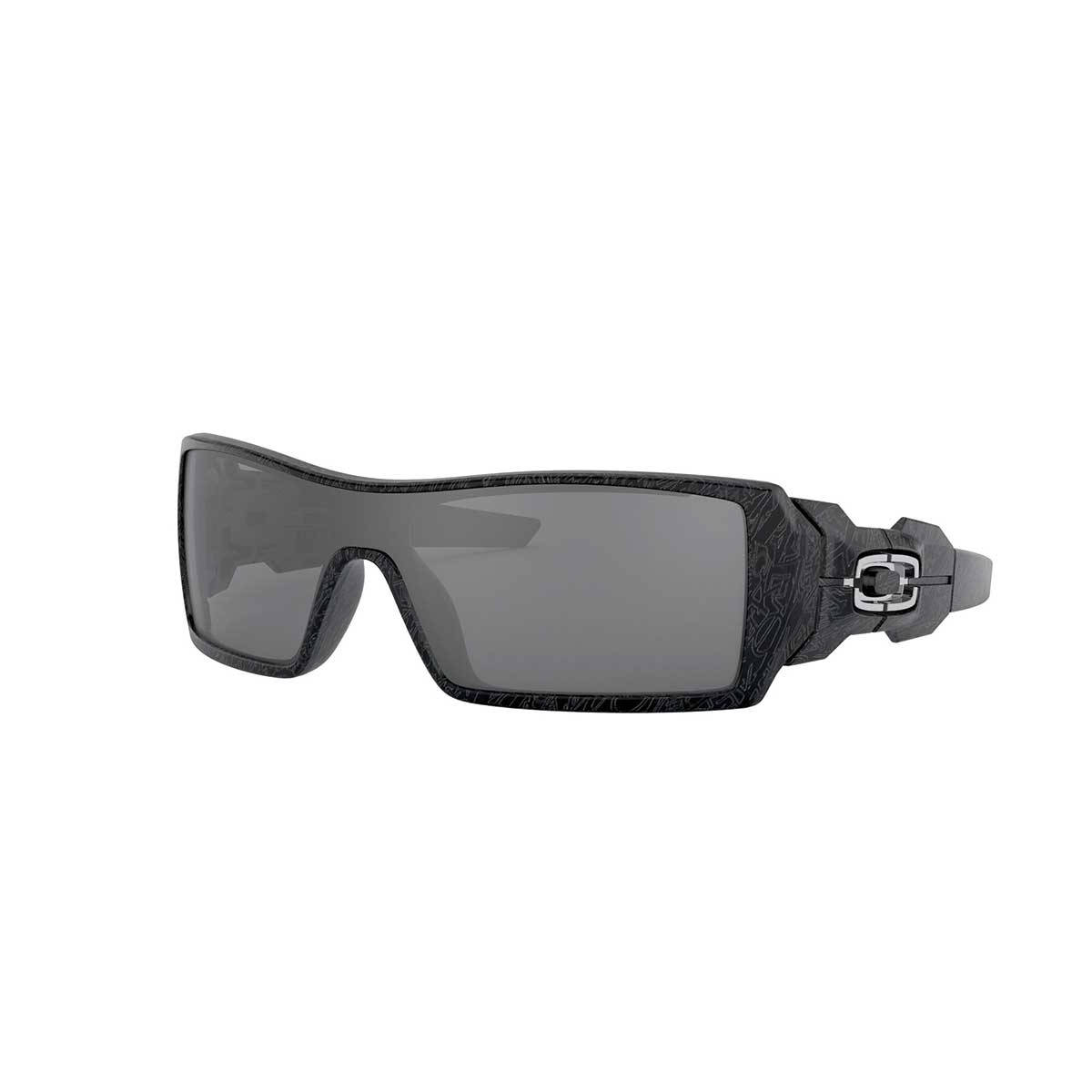Oakley Oil Rig, Polished Black