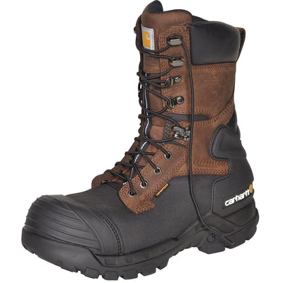 "Carhartt 12""H Composite Toe Leather Pac Boots"