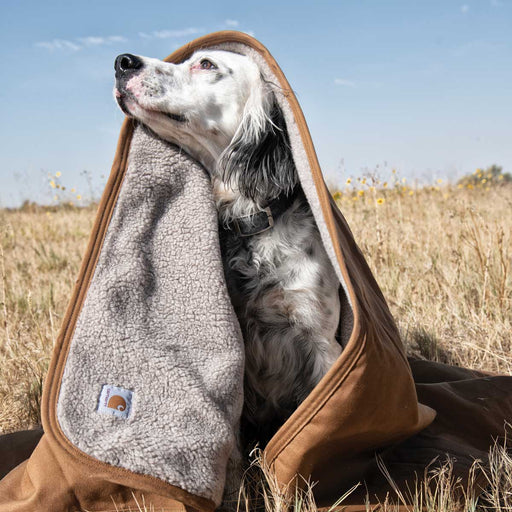 Carhartt Pet Blanket, Carhartt Brown