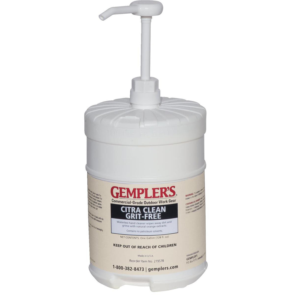 GEMPLER'S&reg Citra Clean Grit-free Hand Cleaner 1-gal.