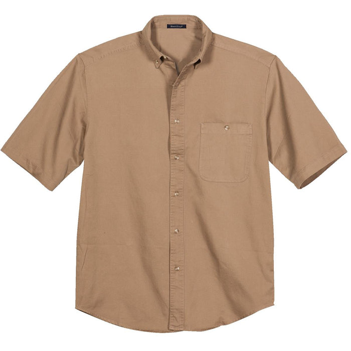 Short Sleeve Denim Work Shirt