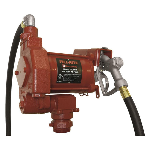 High-Capacity 115V AC Fuel Transfer Pump