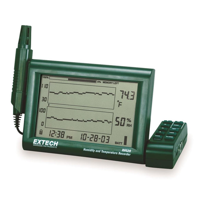 Extech Humidity and Temperature Chart Recorder