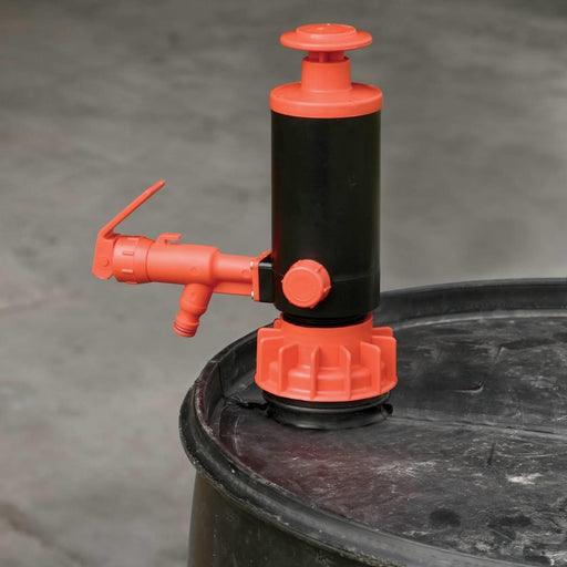 Red GoatThroat Pump with Nitrile Seal
