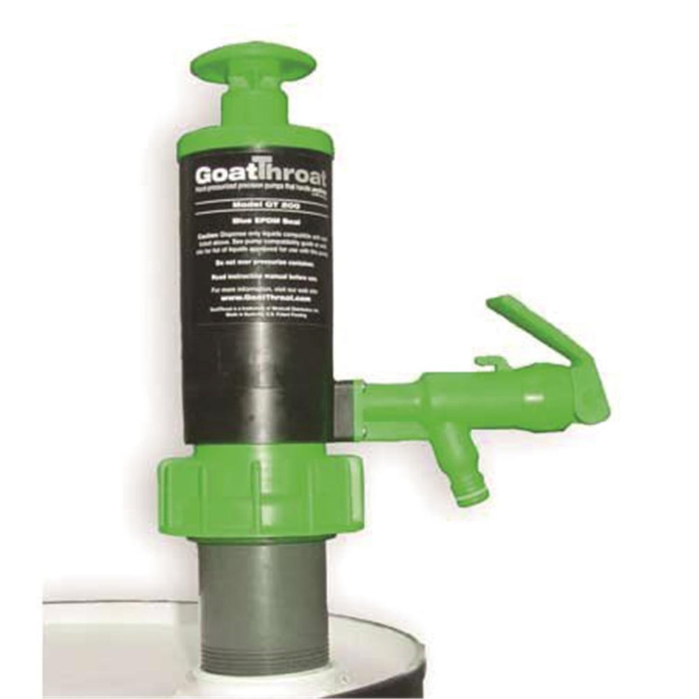 Green GoatThroat Pump with Viton® Seal