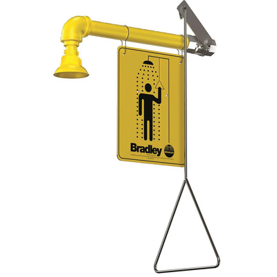 Bradley Horizontal Drench Decontamination Shower
