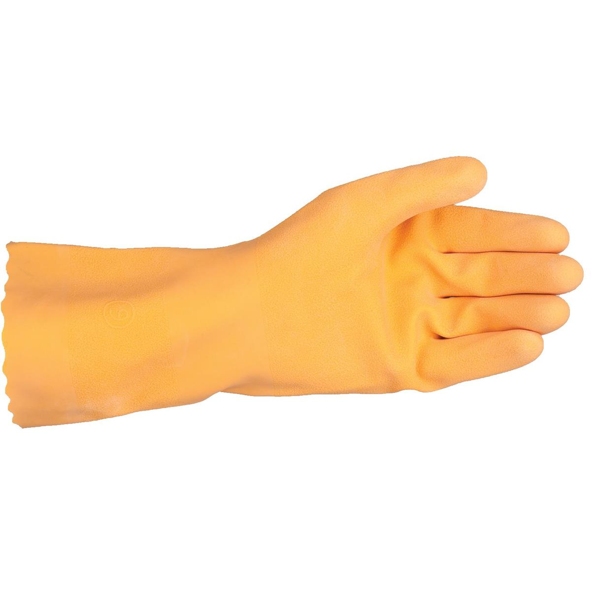 Showa Best® Master® 21-mil Flock-lined Industrial Rubber Gloves
