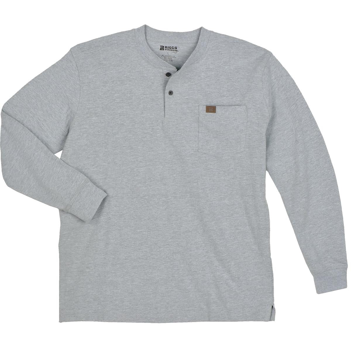 Riggs Workwear&reg by Wrangler&reg Long-Sleeve Henley Shirt