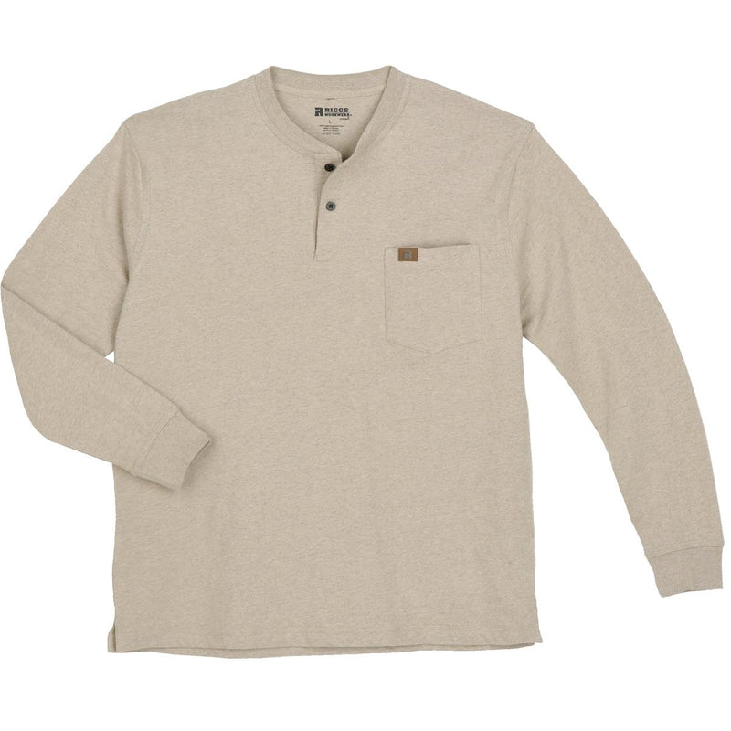 Riggs Workwear by Wrangler Long-Sleeve Henley Shirt