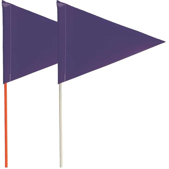 Blackburn Pennant Marking Flag with Fiberglass Staff