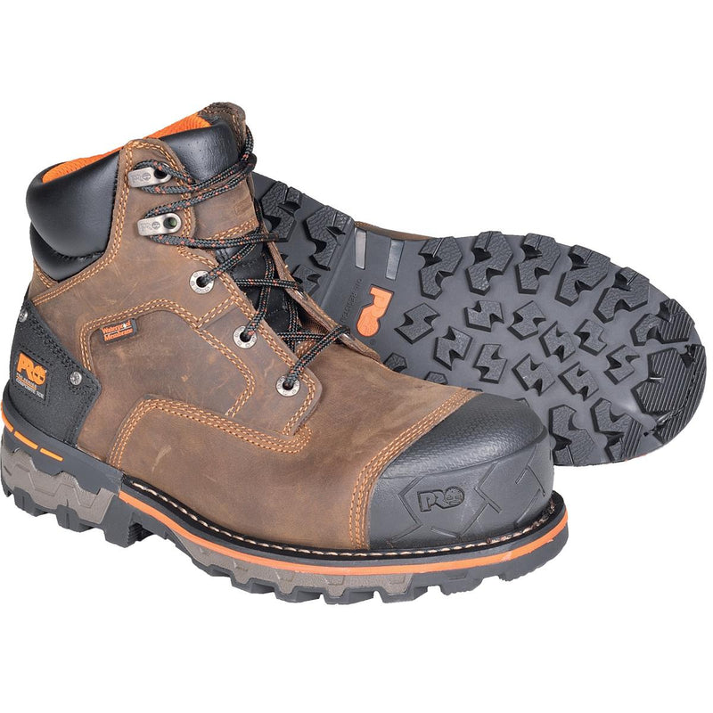 "Timberland PRO Boondock 6""H Work Boots, Plain Toe or Composite Toe"