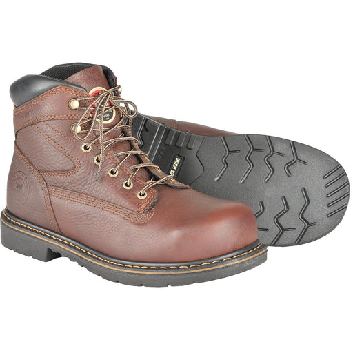 "Farmington 6""H Steel Toe Leather Boots"