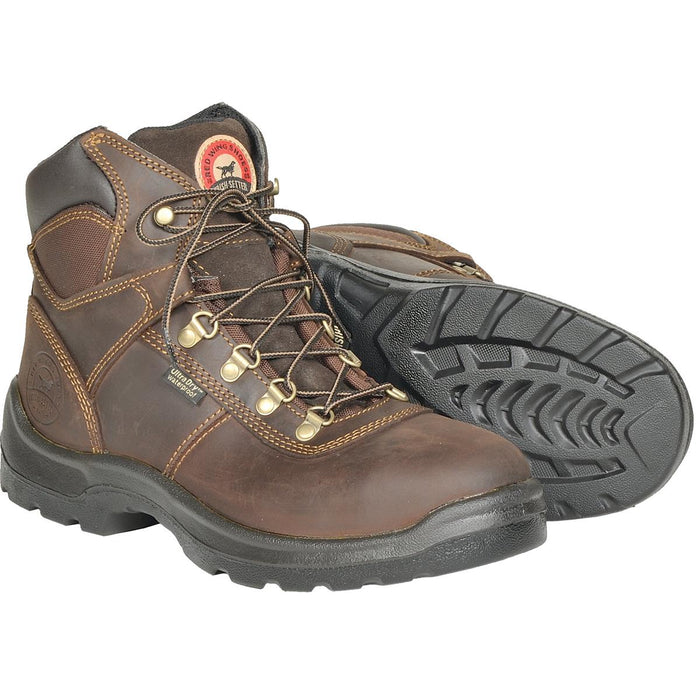 "Irish Setter Ely 6""H Waterproof Leather Safety Boots"