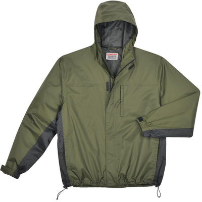 Breathable, Ripstop Nylon Packable Rain Jacket