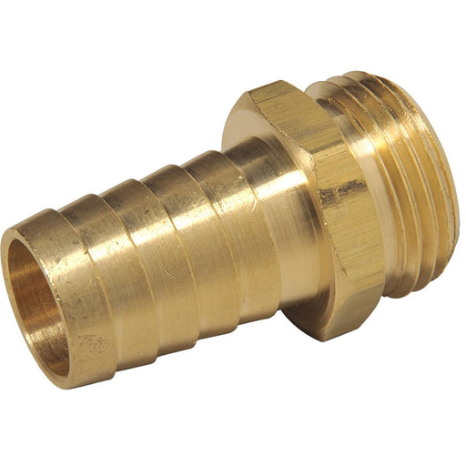 "1"" Hose Barb x Male 3/4"" GHT Fitting"