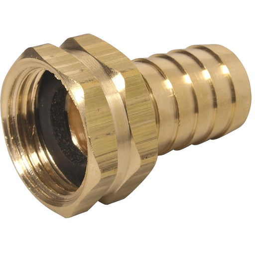 "1"" Hose Barb x 3/4"" Female GHT Fitting"