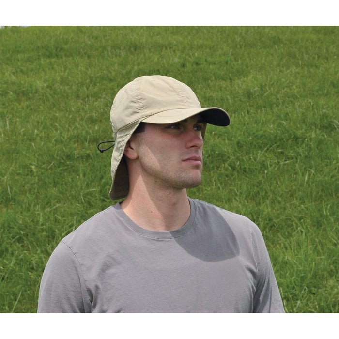 Unisex Sun Cap with Neck Guard