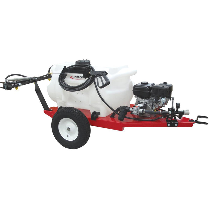 FIMCO Gas-powered Trailer Sprayer w/ Silver Series XL® Pump