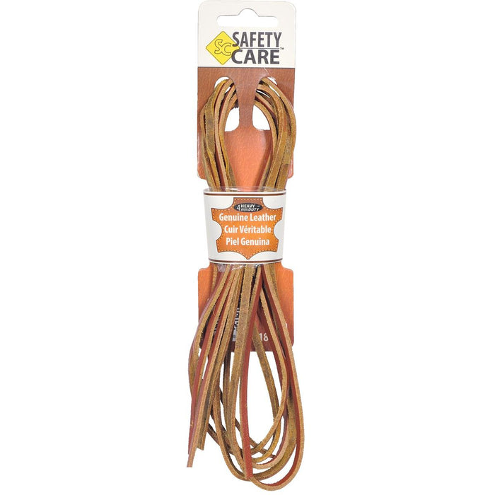 "JobSite Leather Boot Laces, 72""L"