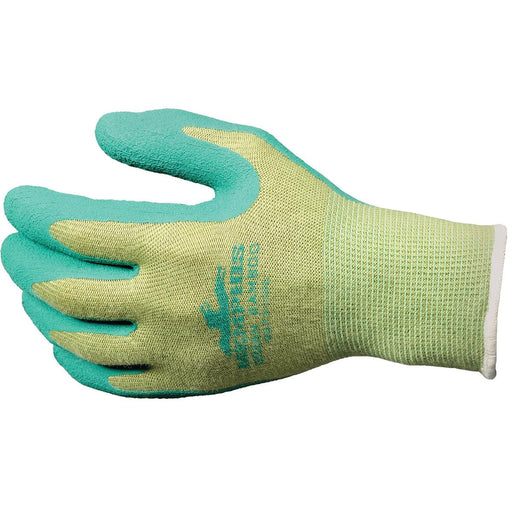 MCR Safety Bamboo Foam Latex-dipped Gloves