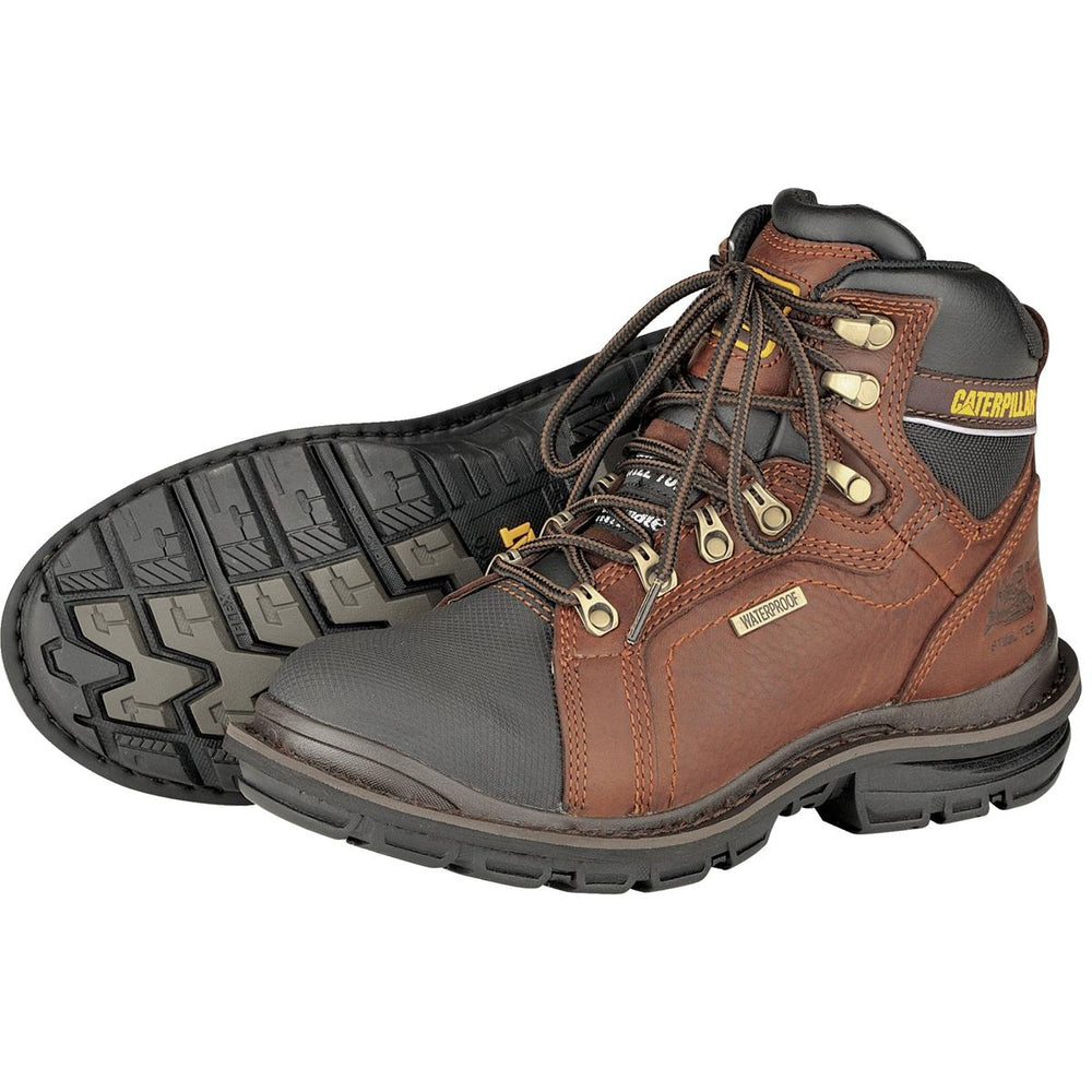 CAT Manifold Steel Toe Insulated Boots