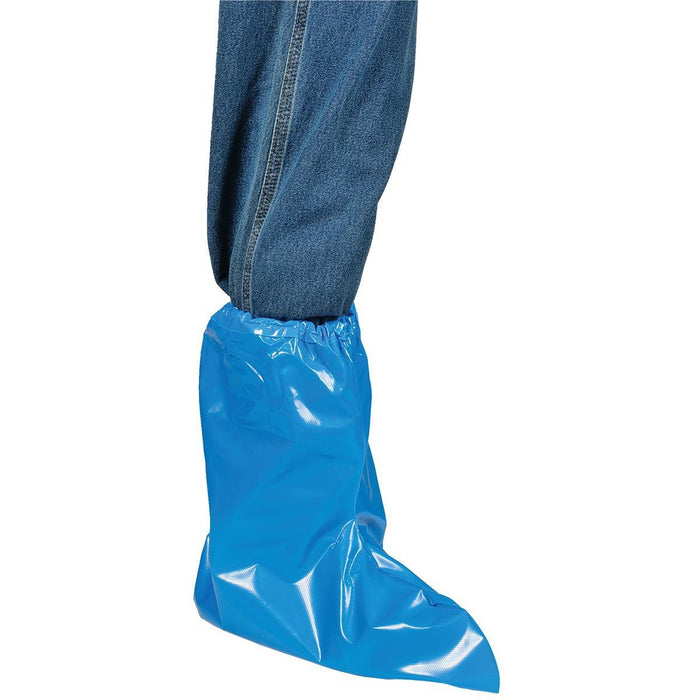 CONTINENTAL PLASTIC CORP. Over-the-Shoe, Protective Polyethylene Plastic Boots