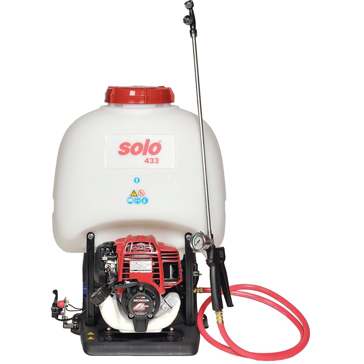 High-Pressure Motorized 5-gal. Backpack Sprayer