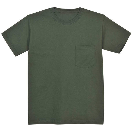 Cotton Work T-Shirt with Pocket