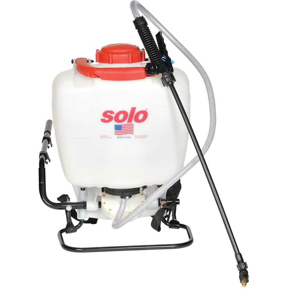 Deluxe 4-gal. Backpack Sprayer with Diaphragm Pump