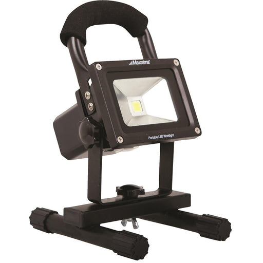 Maxxima Portable Rechargeable 800-Lumen Work Light