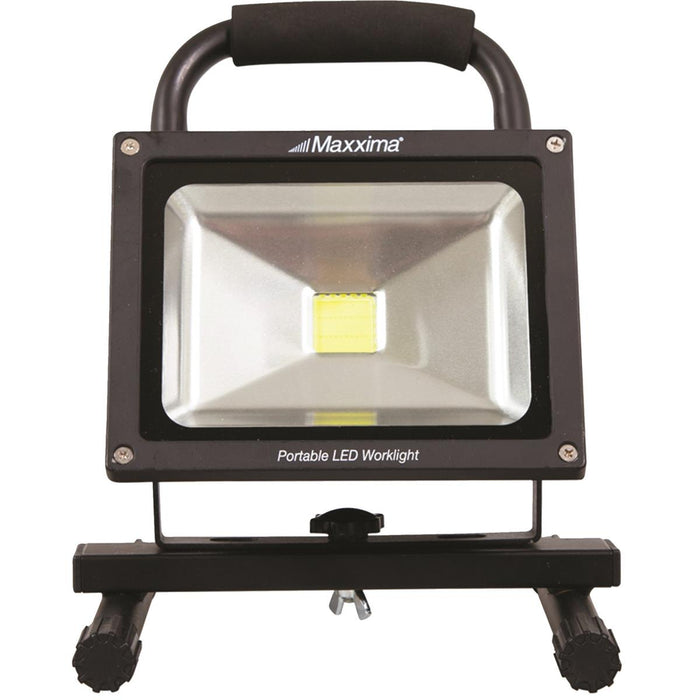 Maxxima Portable Rechargeable 1,750-Lumen LED Work Light