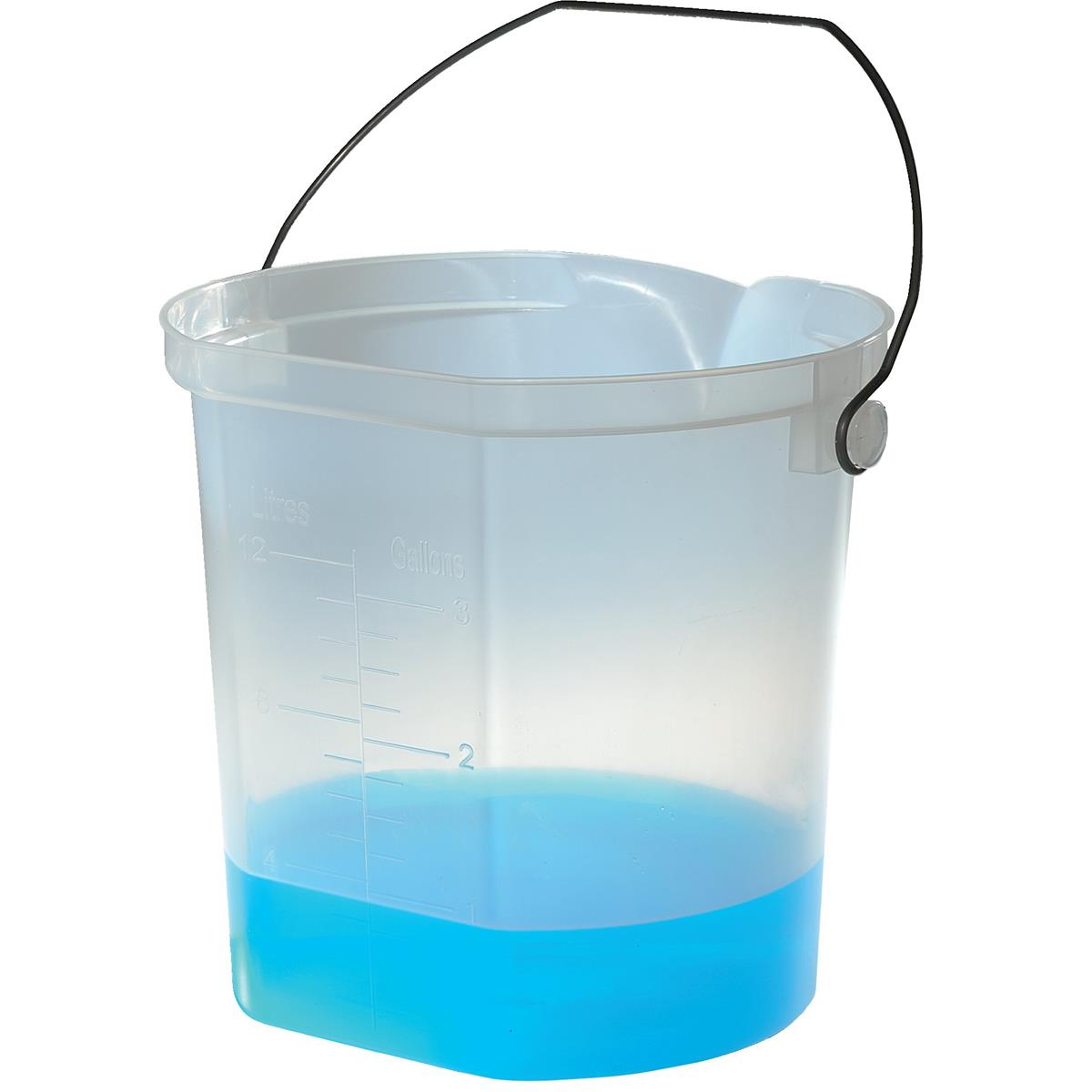 3-gal. Polypropylene Measuring Pail