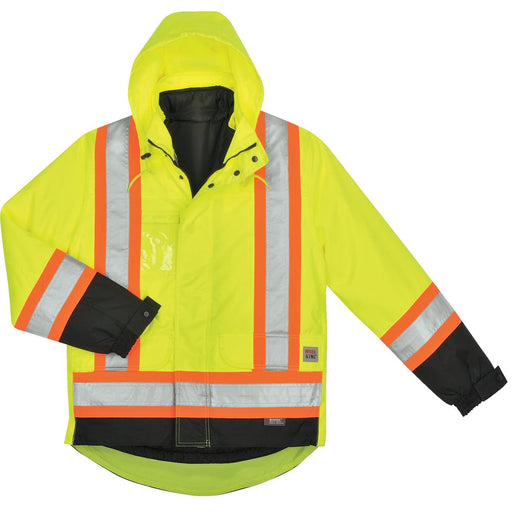 Work King ANSI Class 3 Hi-Vis 5-in-1 Parka