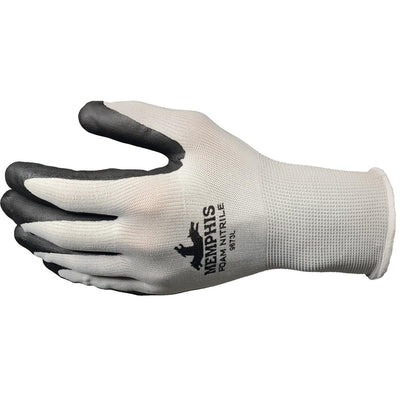MCR Safety Foam Nitrile-Coated Nylon Gloves