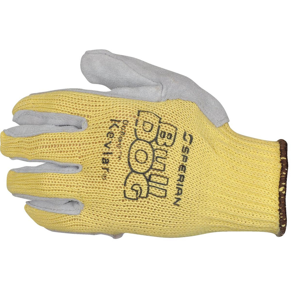 Honeywell Bull Dog™ Women's Cut-Resistant Leather Palm Knit Gloves