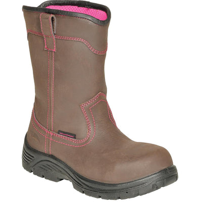 Avenger Women's Waterproof Leather Wellington Boots
