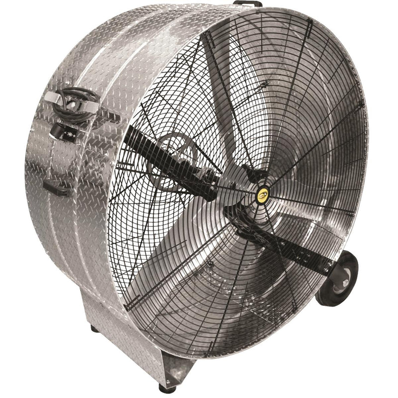 J & D MANUFACTURING Galvanized Drum Fan