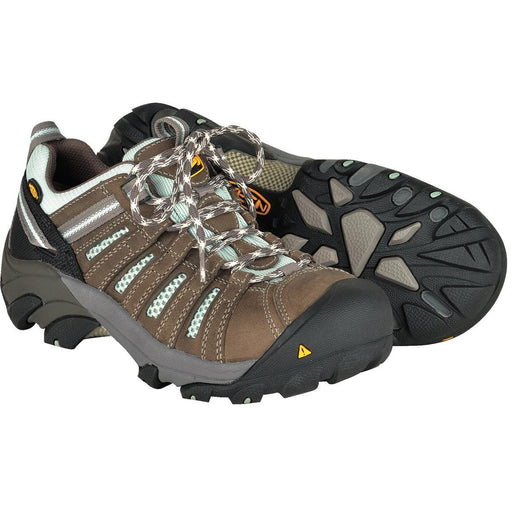 KEEN Utility Women's Flint Low Work Shoes, Steel Toe