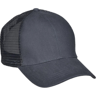 Cotton Mesh-Back Baseball Cap, Matching Mesh