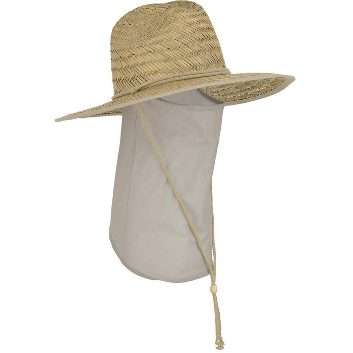 Seirus Quick Shade™ Panama™ Straw Sun Hat with Neck Shade