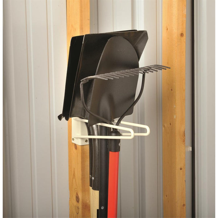 "Gempler's 12""L Economy Two-Rod Stud-Mount Tool Rack"